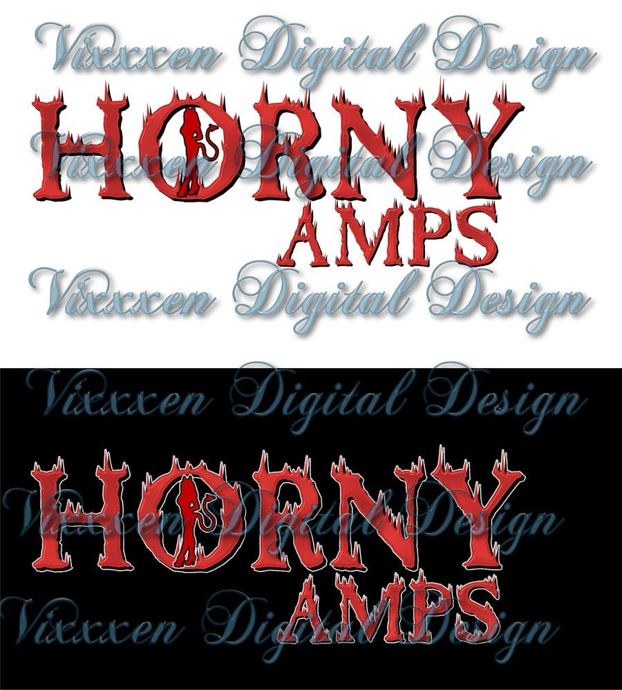 Proposition n°91 du concours Logo Design for Horny Amps
