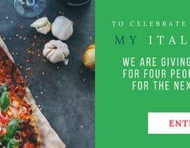 #27 for Design Italian Restaurant Digital Top banner Ad by ujoshi333