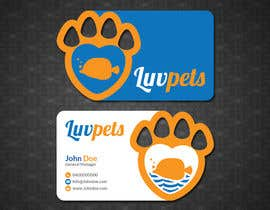 #44 para Create Business cards for Pet business de papri802030