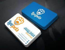 #74 dla Create Business cards for Pet business przez shaown7