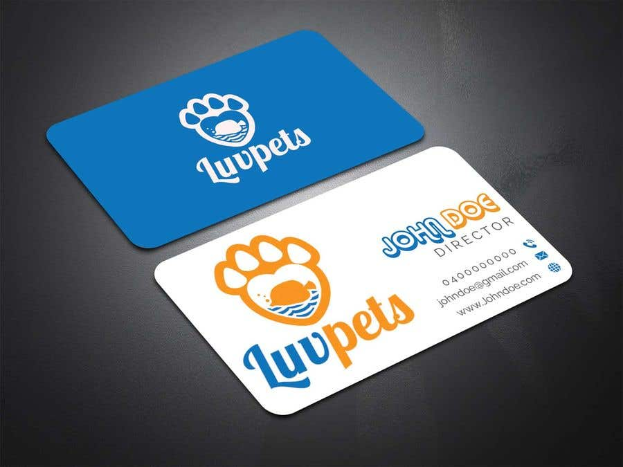 Konkurrenceindlæg #98 for Create Business cards for Pet business