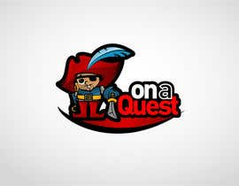 nº 213 pour Logo Design for On a Quest par mdimitris
