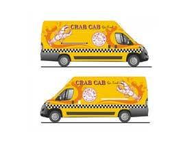 Nro 36 kilpailuun food truck sticker and logo design käyttäjältä qamarkaami