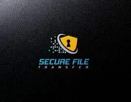 Nro 227 kilpailuun Logo of Secure File Transfer Service käyttäjältä Design4ink