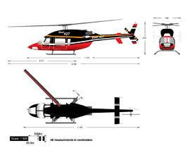 #112 for Design a helicopter paint design by Ambition454