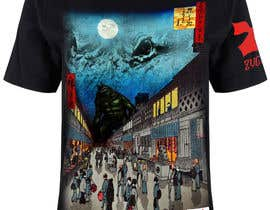 #2 для Monster attack on city T shirt design от marklabioso
