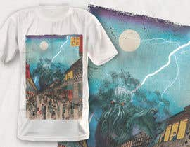 #13 для Monster attack on city T shirt design от robiulhossi