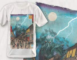 #14 для Monster attack on city T shirt design от robiulhossi