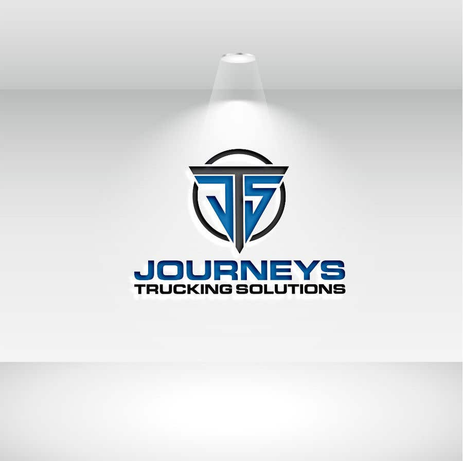Contest Entry #19 for Journeys Trucking Solutions or abreviated also
