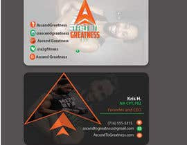 #159 for Design Personal Trainer Business Cards by yes321456