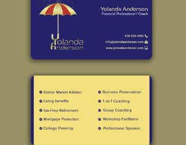 #117 untuk Design Insurance Salesman Business Cards oleh Mannan80