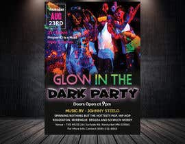 #26 pentru Design a glow in the dark party club flyer de către daliaalmansoori