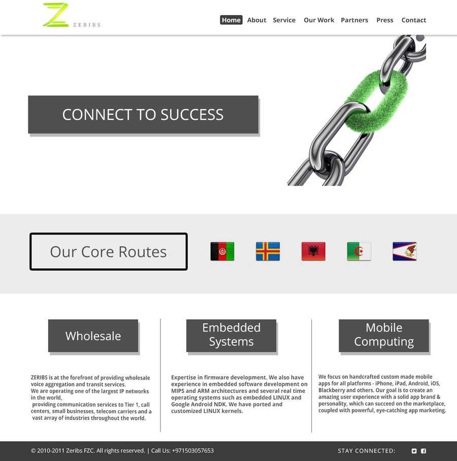 Konkurrenceindlæg #                                        7                                      for                                         Home page design
