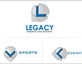 #26 para Logo Design for Legacy Sports & Events por askleo