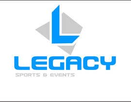 #40 para Logo Design for Legacy Sports & Events por a282a