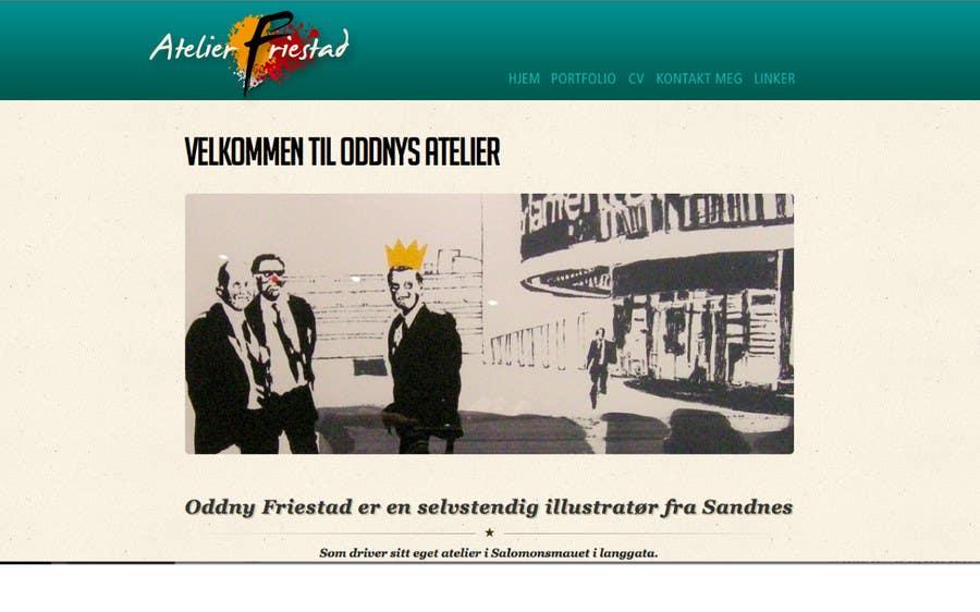 Inscrição nº 59 do Concurso para Logo Design for atelier Friestad