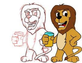 #23 for I want a cartoon lion drinking a beer glass by tadadat