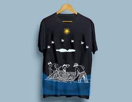 Nro 8 kilpailuun Make illustration for back of t-shirt käyttäjältä nagimuddin01981
