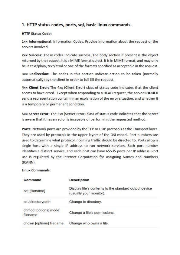 Penyertaan Peraduan #1 untuk Help to prepare for Technical Java interview