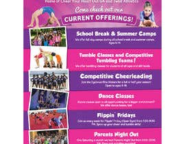 #15 for Cheerleading Class Flyer by vexelartz