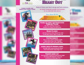 #11 for Cheerleading Class Flyer by meenapatwal