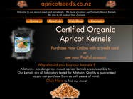 #9 for Graphic Design - Redesign FRONT PAGE Only - apricotseeds.co.nz website by ivegotlost