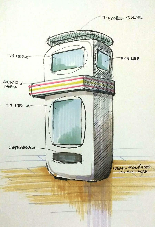 Participación en el concurso Nro.23 para Hand sketch artist to help us inprove our concept design