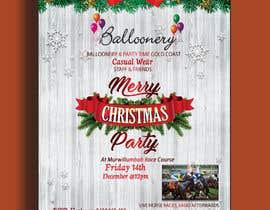 Nro 3 kilpailuun Balloonery Christmas Party käyttäjältä hridoyghf