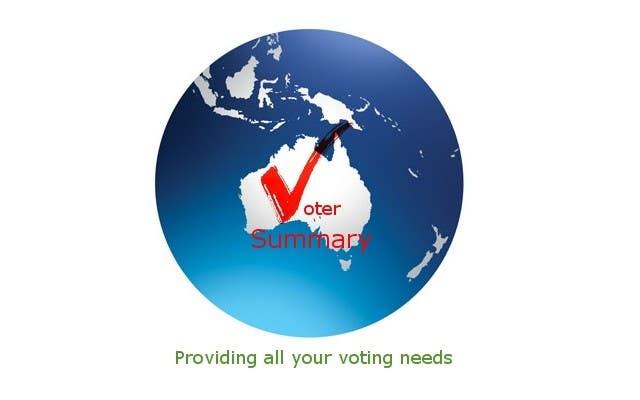 Bài tham dự cuộc thi #                                        19                                      cho                                         Logo Design for Voter Summary