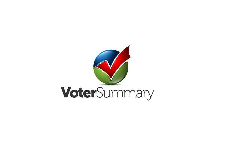 Bài tham dự cuộc thi #                                        11                                      cho                                         Logo Design for Voter Summary
