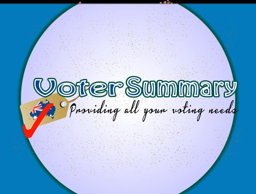 Bài tham dự cuộc thi #                                        25                                      cho                                         Logo Design for Voter Summary