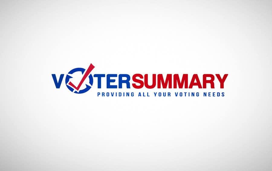 Bài tham dự cuộc thi #                                        4                                      cho                                         Logo Design for Voter Summary