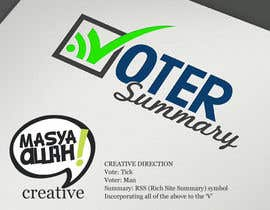 nº 24 pour Logo Design for Voter Summary par masyaallah
