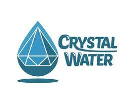 #21 dla I need a logo design for potable water brand  The selected name is Crystal Water przez elfenlied25