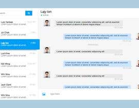 #1 for Social media chat user interface needed by sherlockcse