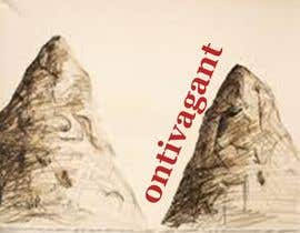 """#3 untuk The word """"Montivagant"""" with mountains coming off of the M and being on too of the whole word. Make the M apart of the mountain range. I want this very simple. Message me for a drawing of it oleh Eureka0602"""