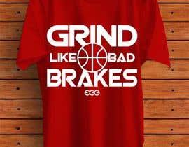 HabiburHR tarafından Grind Like Bad Brakes Mock up T-shirts için no 4