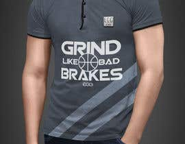 #11 for Grind Like Bad Brakes Mock up T-shirts by RibonEliass