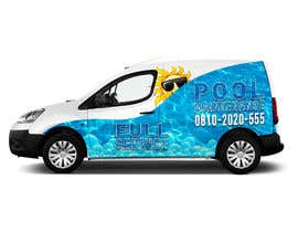 #16 for design for pool maintenance/advertising on car meredes Vito by salesdavid90