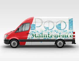 #13 for design for pool maintenance/advertising on car meredes Vito by Perikli92