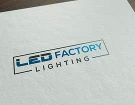 #8 для Id like a logo sending in all formats for a high end luxury website   ledfactorylighting  I like modern colours eg - greys whites & simple  Also a box around the logo от NeriDesign