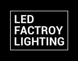 #3 для Id like a logo sending in all formats for a high end luxury website   ledfactorylighting  I like modern colours eg - greys whites & simple  Also a box around the logo от MoamenAhmedAshra