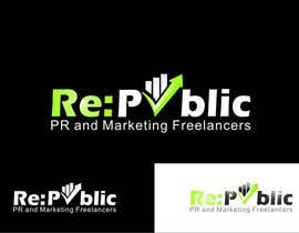 #137 pentru Logo Design for Re:public (PR and Marketing Freelancers) de către madcganteng