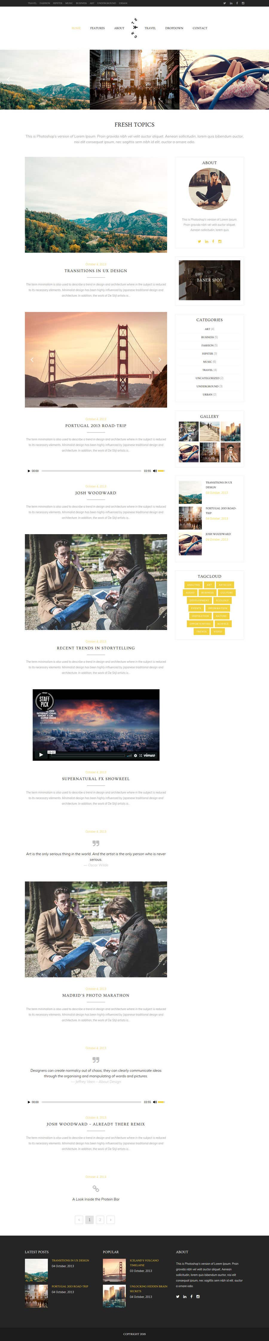 Konkurrenceindlæg #10 for Build A Blog - Design a Brand