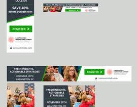 Nro 28 kilpailuun Design Web Ads for a Conference käyttäjältä silvia709