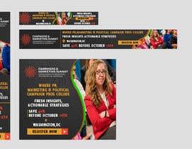 Nro 30 kilpailuun Design Web Ads for a Conference käyttäjältä ravindu621