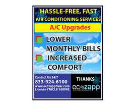 #26 for Yard Sign Design for HVAC - for Customer front yard by Shopna338