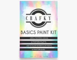 Nro 23 kilpailuun Crafky Paint Kit Label käyttäjältä mbauzamartinez