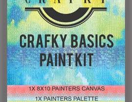 Nro 16 kilpailuun Crafky Paint Kit Label käyttäjältä sulovechiran18