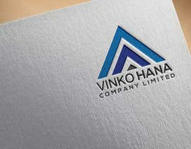 #34 for Design logo for  VINKO HANA COMPANY LIMITED by abidsakal10